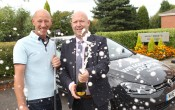 Stockport County FC Hole in one winner